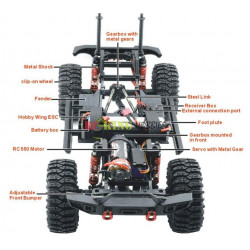 JJRC Q39 1:12 4WD High Speed Short Course Truck RTR