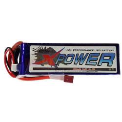 Xpower 2200Mah 14.8v 4S 25C...