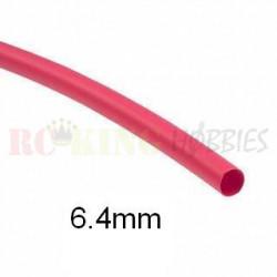 Red Heat Shrink 6.4mm x 500mm