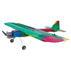 Radio Controlled Plane NatterJack V2 - In South African Flag Colours.