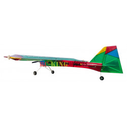 Roy covered his NatterJack Funfly with South African colours.  This plane looks awesome and is very visible.