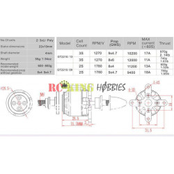 HSP MT-H Monster Truck RTR 1/12 w/Alarm Buzzer (Brushed)