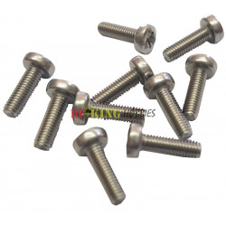Pushrod End Threaded 3mm