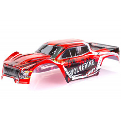 HSP 1/10 Wolverine Body (Red)